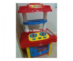Toy Kitchen Pretend Play