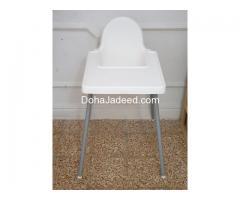 Table & kids high chair