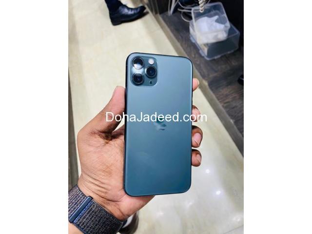 iPhone 11 Pro 256 10 months warranty balance ali bin ali green color