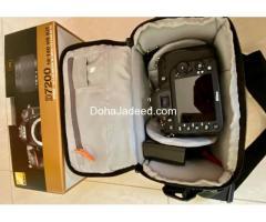 Like new Nikon D7200 - 1800-200 kit and several freebies.