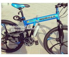 "Hummer foldable bikes 26"""