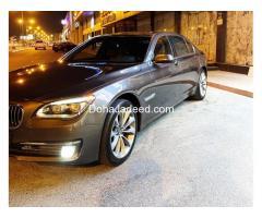 BMW 730 iL size 2015 model