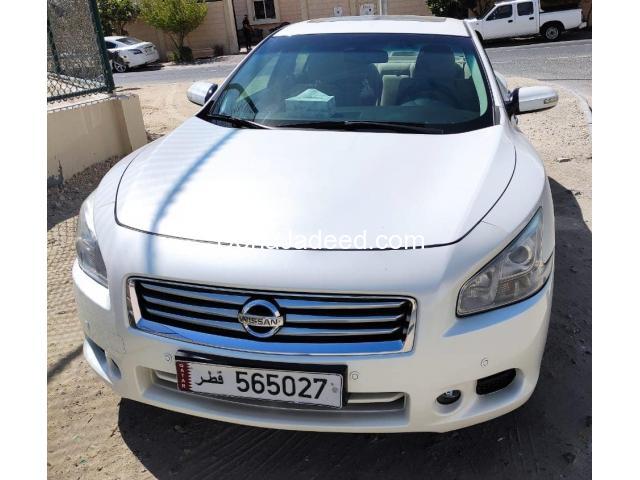 Nissan Maxima 2013 model,