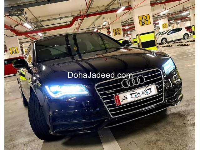 Audi A7 Model 2012