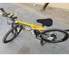 "rand new 26""hummer LX foldable mountain bike"