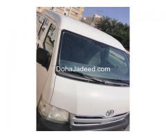 Toyota Hiace bus, modified 2013,