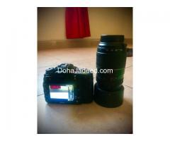Nikon 7200 for sale along with tamaron 70-300 lens and Nikon-18-55mm