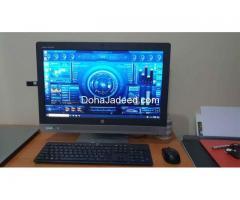 """HP All-in-One PC Core-i5(6th Gen)@ 3.30GHz, 8GB RAM, 500GB HDD, 23"""" FHD Display"""