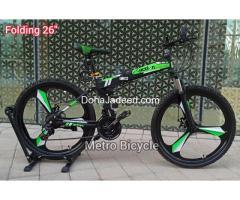 "Folding Bicycles 26"""