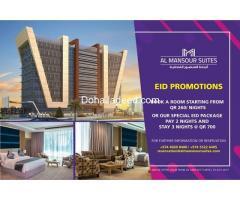 Celebrate Eid Al Fitr with Al Mansour Suites