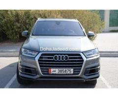 Audi Q7 2017 Full Option