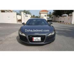 Audi R8 140,000 QAR negotiable