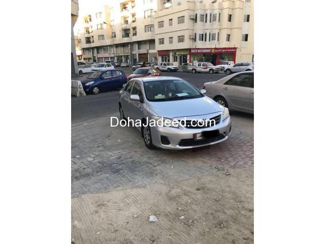Toyota Corolla 2011 manual car