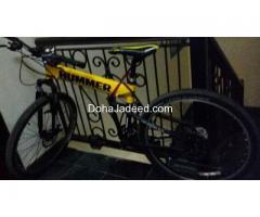 "MTB HUMMER bike size 26"" , 21 speed"