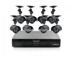 CCTV camera installation, barrier installation, access control system, gates, metal doors