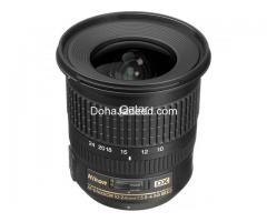 Nikon Lens 10-24mm AF-S Nikkor f/3.5-4.5G DX ED