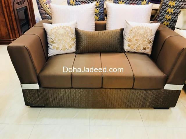 Home Center Sofa 7 Sitter 3 2 2 Doha Jadeed
