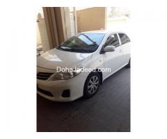 Toyota coralla 2013