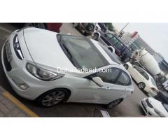 Hyundai assent 2014