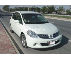 Nissan Tida Hachback 2010 model