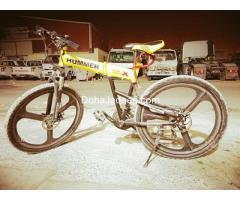 ORIGINAL HUMMER FOLDING BICYCLE