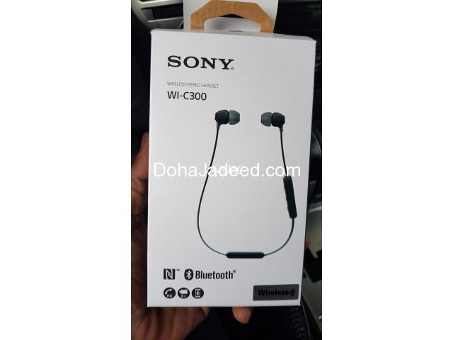 Wireless Bluetooth Stereo Headset Sony WI-C300