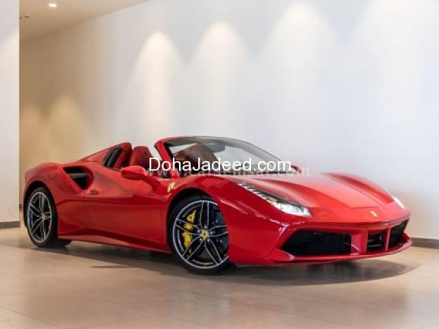 2017 Ferrari Spider 488