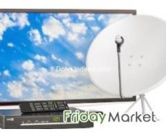 Satellite Dish Tv Installing