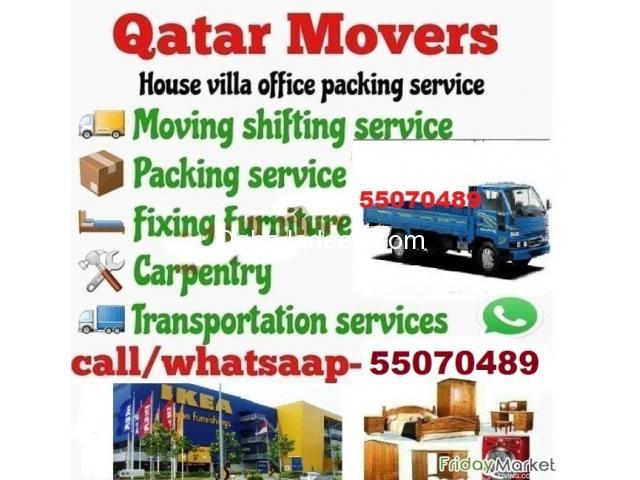 Shifting Moving Transportation Carpenter Services