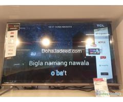 2019 TCL 4K Smart TV 43 INCH