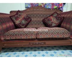 Comfortable Wooden Sofa