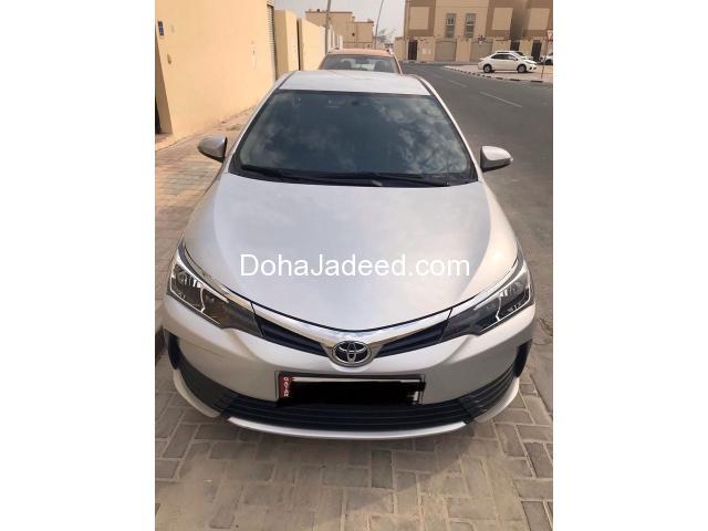 Toyota Corolla 2017 XLi