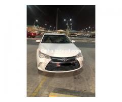Toyota Camry Model 2016 G.L