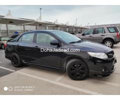 Corolla 2013 sports edition